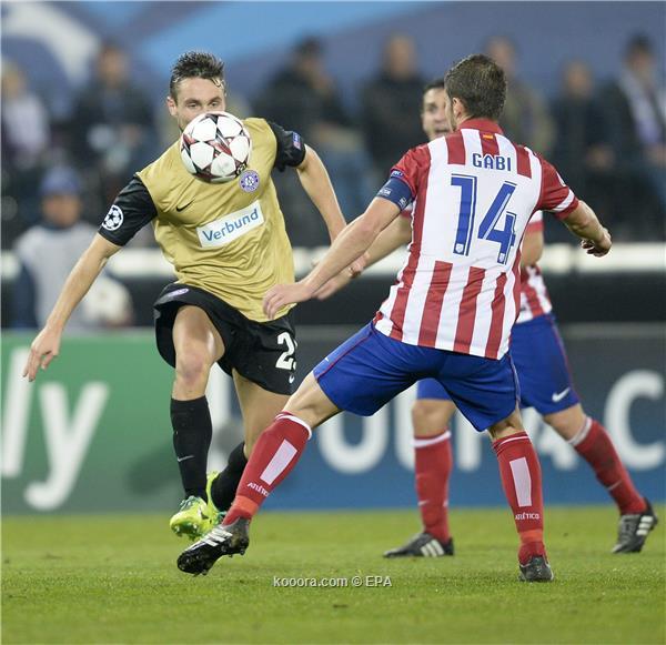 نتيجة مباراة أتلتيكو مدريد و أوستريا فيينا في دوري ابطال اوروبا اليوم الثلاثاء 22-10-2013