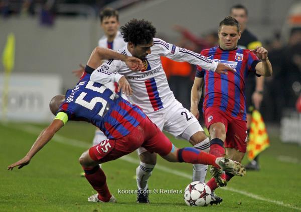 نتيجة مباراة بازل السويسري و ستيوا بوخارست في دوري ابطال اليوم الثلاثاء 22-10-2013