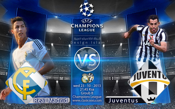ريال مدريد vs يوفنتوس 23/10/2013 Real Madrid vs Juventus