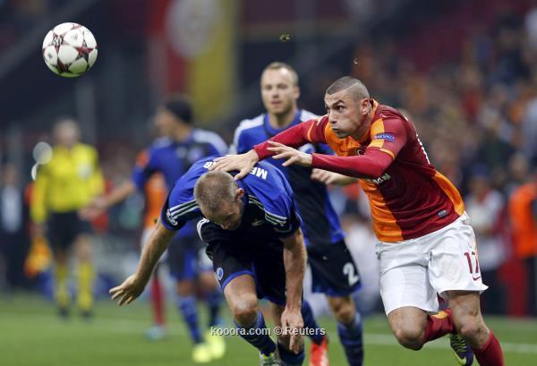 نتيجة مباراة جالطه سراي التركي و كوبنهاجن في دوري ابطال اوروبا اليوم الاربعاء 23-10-2013