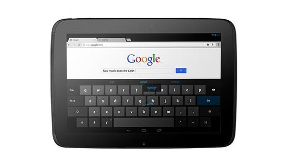 ������� ������ ���� Nexus 10 ������ �� ����