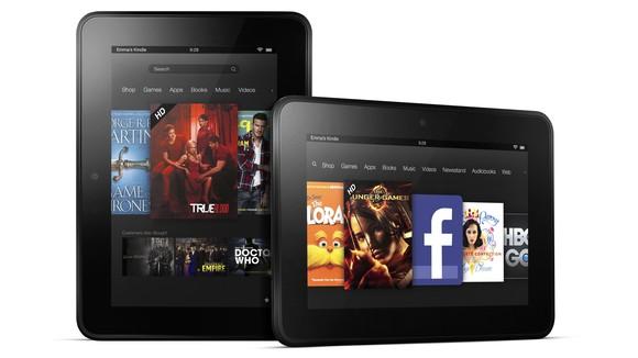 ������� ������� ������ Kindle Fire HD �� ������
