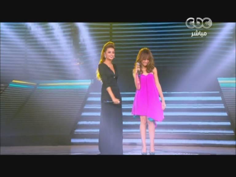 يوتيوب اغنية الا اكللهم - رحمة رياض و زينب اسامة - ستار اكاديمي 9- Star Academy الخميس 24-10-2013