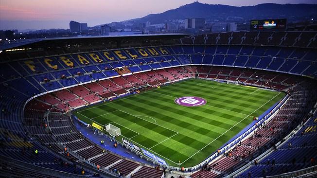 El match de Clasico entre Barcelone et le Real Madrid dans le championnat espagnol, le samedi 26 Oct