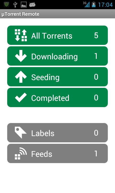 تنزيل برنامج تورنت μtorrent 1.17 for Android للاندرويد احدث اصدار 2014