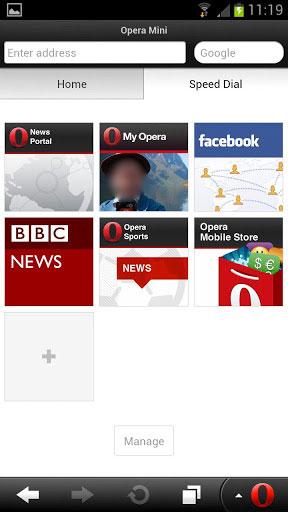 المتصفح الرائع اوبيرا Opera For Android 7.5.3 للاندرويد فى احدث اصداراته