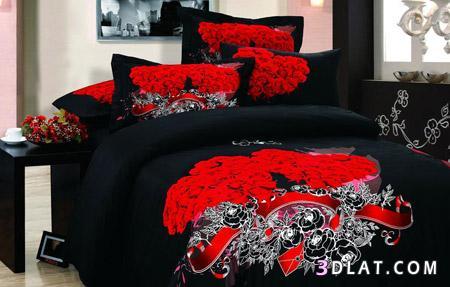 صور مفارش سرير جميلة اوي 2014 , تصاميم مفارش أسره للعرسان الجدد 2014