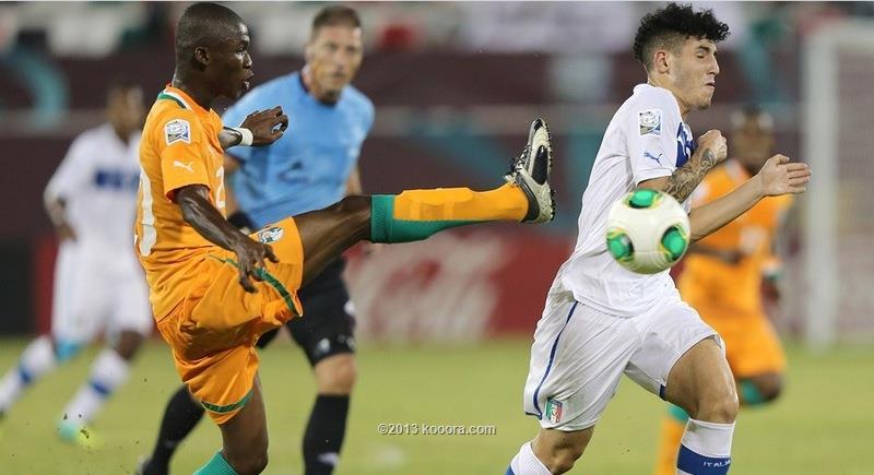 نتيجة مباراة المغرب و كوت ديفوار في كاس العالم للناشئين اليوم الثلاثاء 29-10-2013