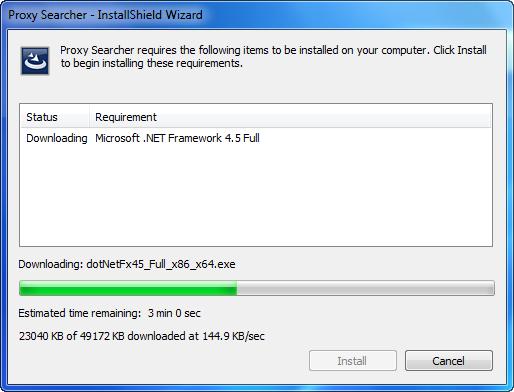 تحميل برنامج Proxy Searcher 2.6 بروكسى لتغير الاى بى وكسر حجب المواقع