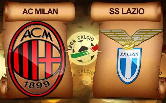 اهداف مباراة ميلان و لاتسيو في الدوري الايطالي اليوم الاربعاء 30-10-2013