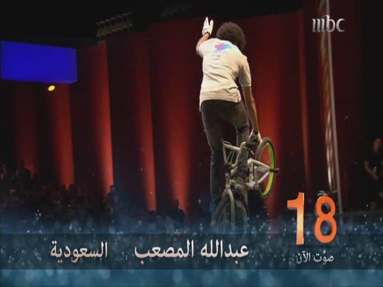 يوتيوب أداء عبدالله المصعب - 3 Arabs Got Talent العروض المباشرة السبت 2-11-2013