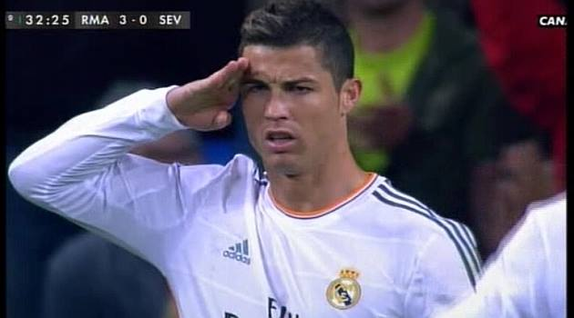 Pictures Ronaldo responded to Blatter Salute