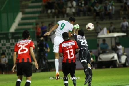 ملخص و تفاصيل و نتيجة مباراة الاهلي و الرائد في الدوري السعودي اليوم الخميس31-10-2013