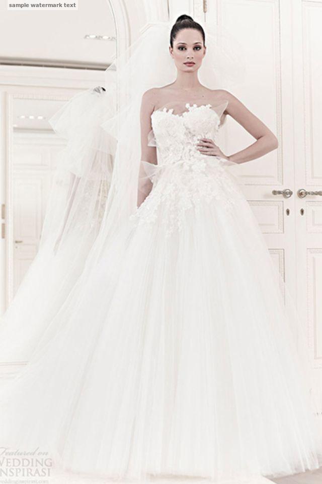 فساتين زفاف المصمم زهير مراد