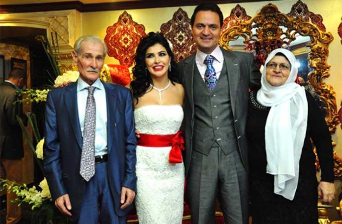 صور حفل زواج الممثلة جومانا مراد 2013