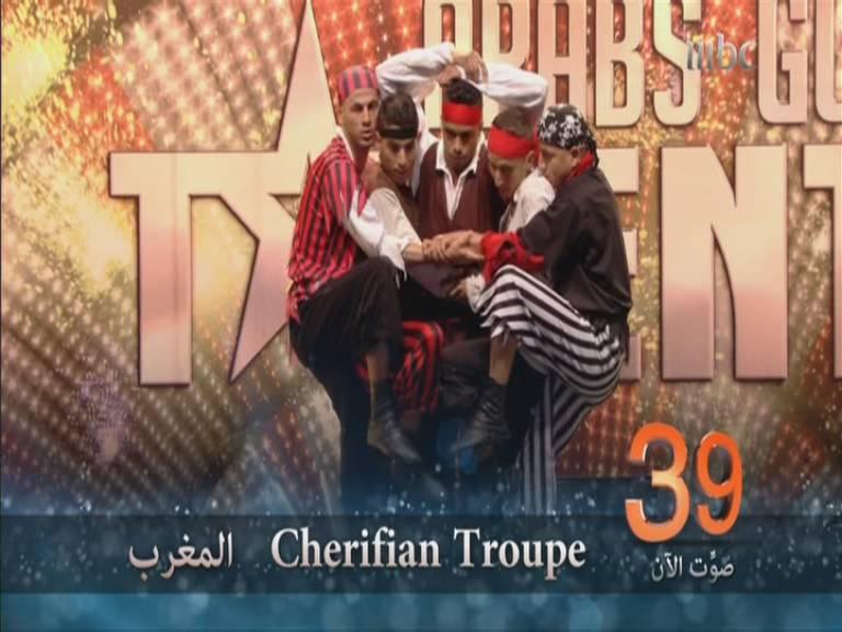 مشاهدة اداء فريق Cherifian Troupe شيريفين تروب - 2-11-2013 , عرب غوت تالنت 3 - Arabs Got Talent