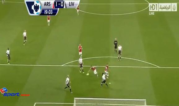 اهداف مباراة آرسنال 2-0 ليفربول الدوري الإنجليزي الممتاز السبت 2013/11/2