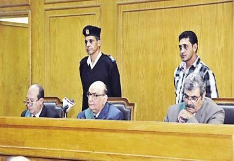 المستشار أحمد صبرى , صور المستشار أحمد صبرى قاضى محاكمة محمد مرسى 4-11-2013