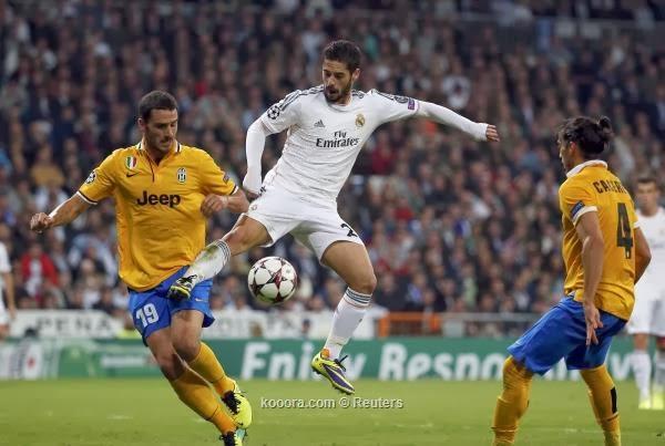 القنوات المجانية الناقلة لمباراة ريال مدريد ويوفنتوس اليوم 5-11-2013