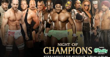 ������ ������ �������� ���� ������� 2013 ���� , ����� Night of Champions 2013
