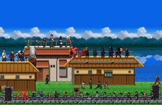 تحميل لعبة ناروتو للكمبيوتر بحجم صغير Naruto Ninja 8