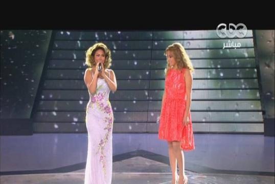 يوتيوب اغنية اسال عليا - شيرين عبد الوهاب و ليليا بن شيخة - ستار اكاديمي 9 اليوم الخميس7-11-2013