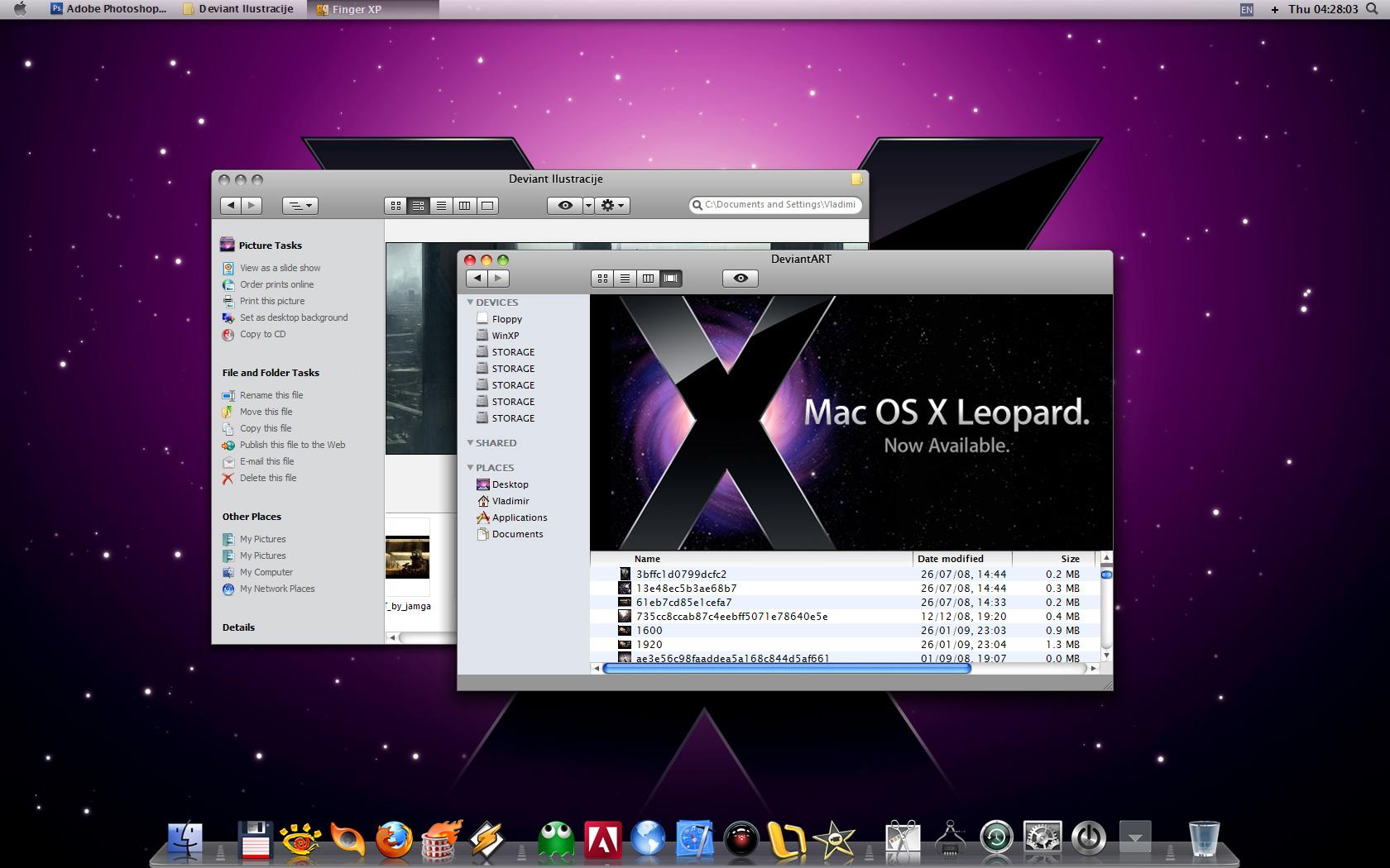 برنامج رائع يقوم بتحويل الويندوز xp بالكامل إلى LeopardXP7