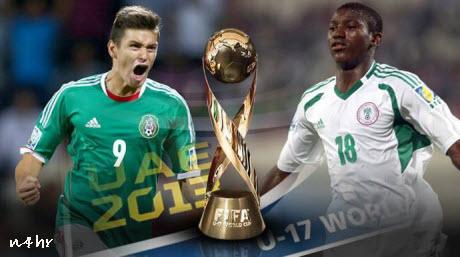 أهداف نيجيريا و المكسيك نهائي كأس العالم للناشئين 9/11/2013