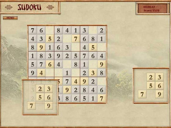 ����� ���� ������ ��������� ����� �� ����� Sudoku Game
