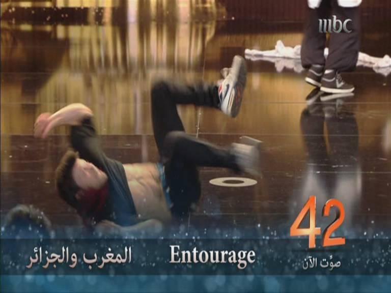 يوتيوب أداء Entourage , أرب قوت تالنت - Arabs Got Talent العروض المباشرة السبت 9-11-2013