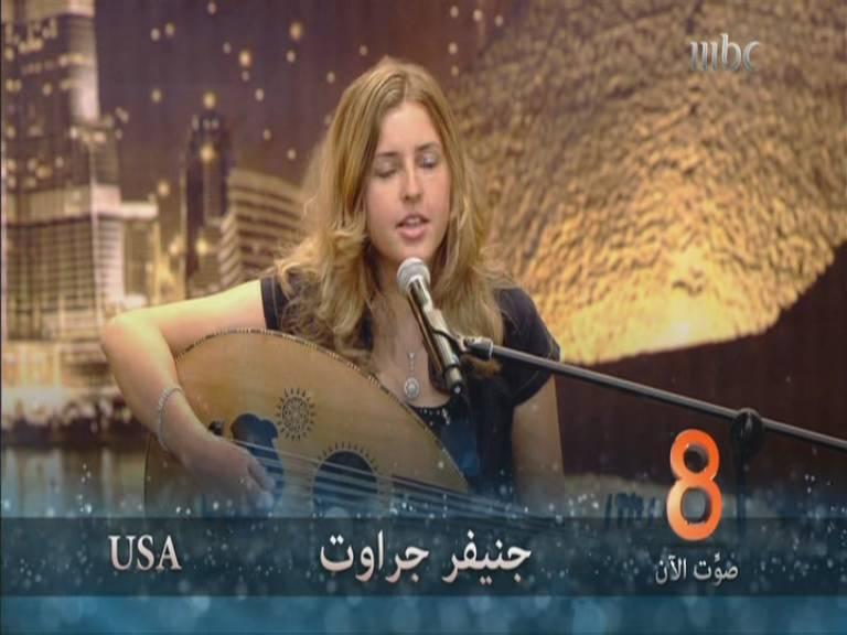 يوتيوب أداء جينفر جراوت - امريكا - أرب قوت تالنت - Arabs Got Talent السبت 9-11-2013