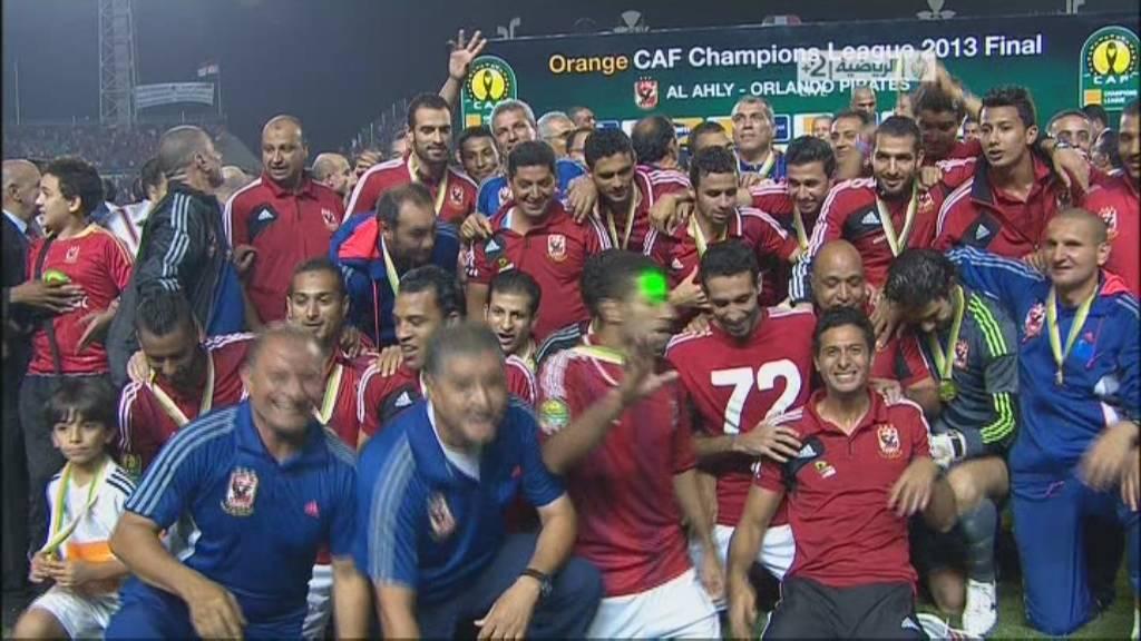 صور تتويج نادي الاهلي بكأس دوري ابطال افريقيا اليوم الاحد 10-11-2013
