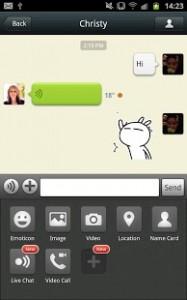 تحميل تطبيق المحادثة المجانية بنظام اندرويد , 2014 Download WeChat