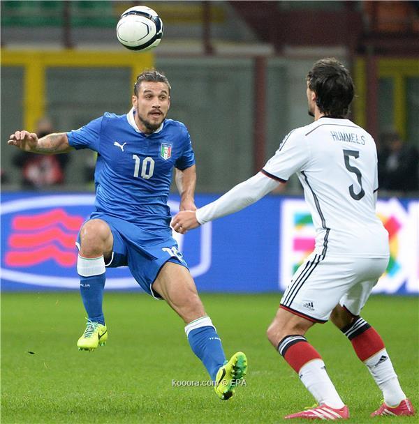 نتيجة مباراة ايطاليا و المانيا الودية اليوم الجمعة 16-11-2013