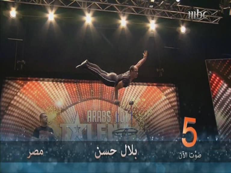 يوتيوب اداء بلال حسن - السرك - أرب قوت تالنت - Arabs Got Talent العروض المباشرة السبت 16-11-2013
