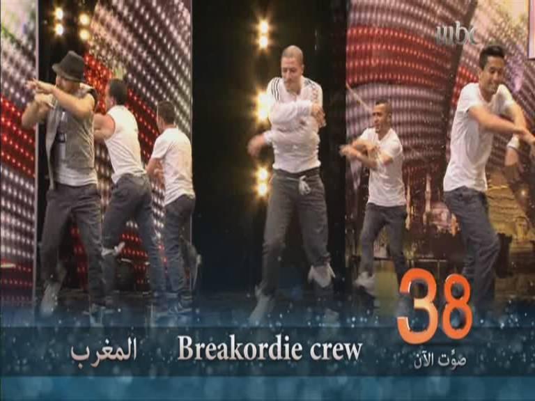 يوتيوب اداء فرقة Breakordie crew - المغرب أرب قوت تالنت Arabs Got Talent العروض المباشرة 16-11-2013