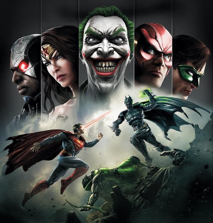لعبة الاكشن الرهيبة لاجهزه الاندرويد Injustice: Gods Among Us v1.1