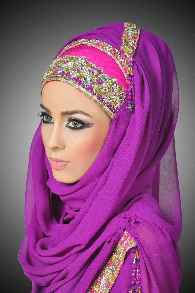 أجمل و أحدت لفات طرح بنات مصر 2014