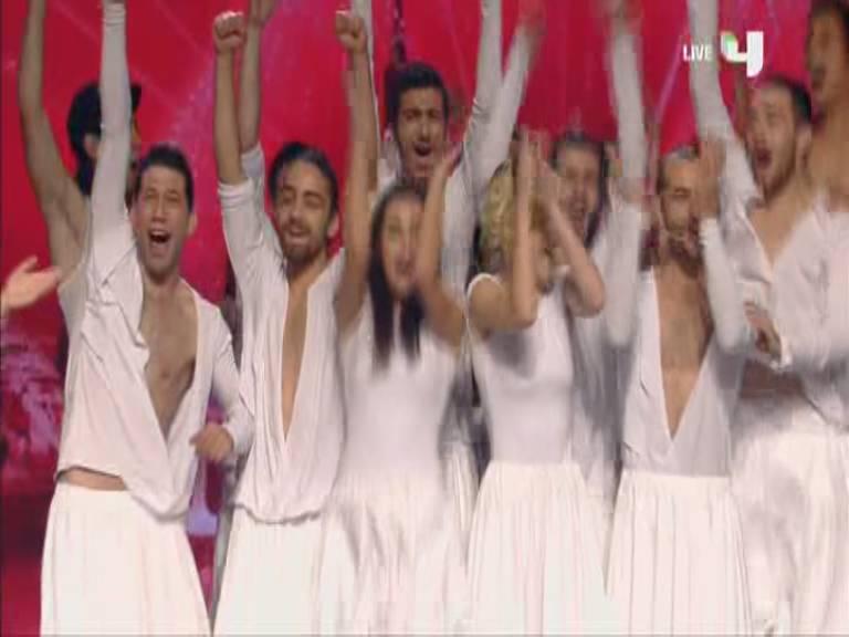 تأهل فرقة سيما Sima - بتصويت الجمهور الي نهائيات أرب قوت تالنت اليوم السبت 16-11-2013
