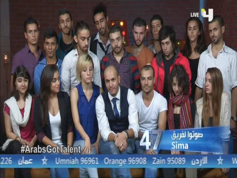 صور عرض فرقة سيما - SIMA - سوريا أرب قوت تالنت - Arabs Got Talent العروض المباشرة السبت 16-11-2013