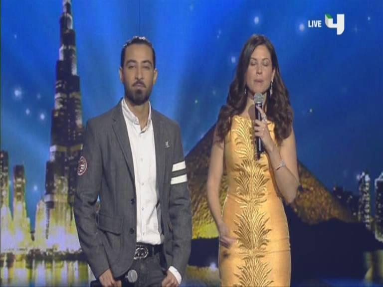 صور ريا ابي راشد وقصي خضر في الحلقة العاشرة أرب قوت تالنت السبت 16-11-2013