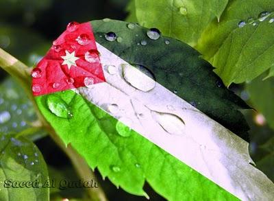 العلم الأردني ، علم المملكة الأردنية الهاشمية ، Jordan Flag