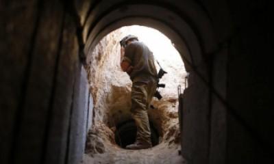 صور نفق خانيونس , كيف كشف الجيش الاسرائيلي نفق خانيونس
