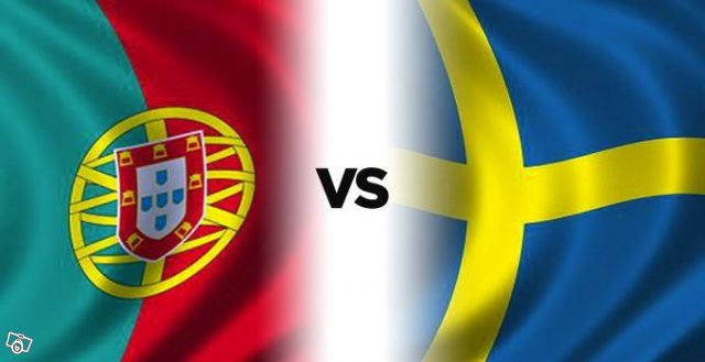 Sweden and Portugal match in the World Cup supplement today Tuesday 19/11/2013