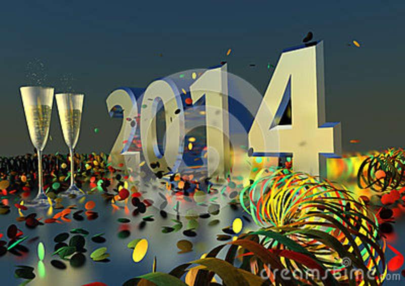 صور تهنئة بالعام الميلادي الجديد 2014 , خلفيات تهنئة بسنة 2014