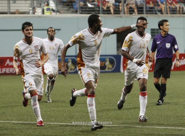 نتيجة مباراة عمان و سوريا وتتأهل المنتخب العماني رسميا لكأس أمم أسيا باستراليا 2015