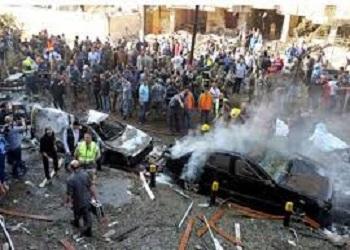 صور انفجار السفارة الايرانية جنوب بيروت , انفجار السفارة الايرانية جنوب بيروت اليوم 19-11-2013