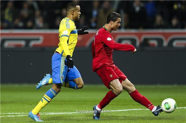 نتيجة مباراة البرتغال و السويد في ملحق كأس العالم و تأهل المنتخب البرتغالي الي كأس العالم 2014