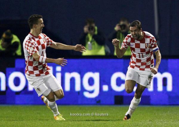 المنتخب الكرواتي يتأهل الي كأس العالم 2014 علي حساب ايسلندا 19-11-2013