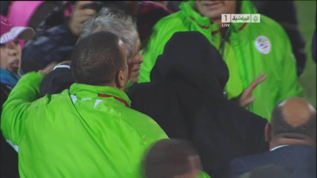 تاهل المنتخب الجزائر لكأس العالم في البرازيل 2014 للمرة الرابعة